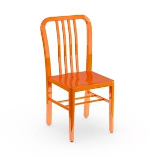 Porch & Den Stoneford Metal Indoor/ Outdoor Chair
