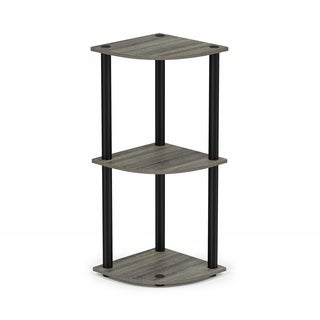 Porch & Den East Village St. Marks 3-tier Corner Multipurpose Shelving Unit