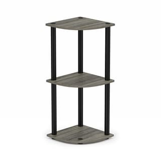 Porch & Den St. Marks 3-tier Corner Multipurpose Shelving Unit