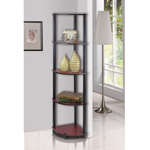 Porch & Den St. Marks 5-tier Corner Shelving Unit