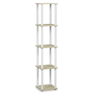 Porch & Den East Village St. Marks 5-tier Corner Square Display Shelf