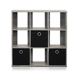 Porch & Den East Village Lillian Ward Simplistic 9-cube Organizer with Bins
