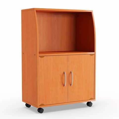 Porch & Den Linden Microwave Cart