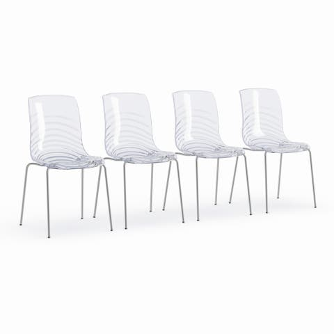 Porch & Den Webster Clear Dining Chair