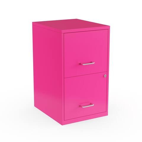Porch & Den Harwich 18-inch 2-drawer Steel File Cabinet