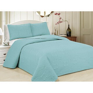 Porch & Den Kenwick Owsley Oversized Geometric Microfiber 3-piece Bedspread Set (More options available)