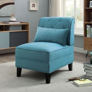 Porch & Den Miami Court Accent Chair with Pillow