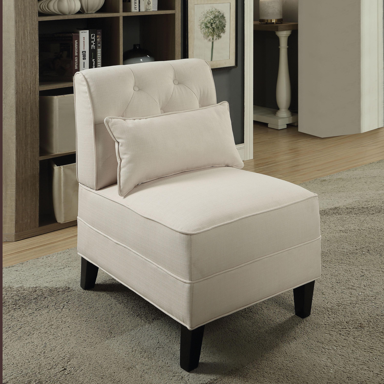 Accent Chair From Oggetti Designs Miami: Porch & Den Miami Court Accent Chair With Pillow Cream