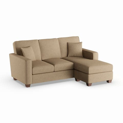 Copper Grove Cleome Reversible Chaise Sectional Sofa