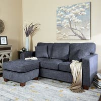 Porch & Den Over-the-Rhine Renner Reversible Chaise Sectional Sofa