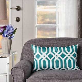 Raylan Rectangle Arabesque Fabric Pillow by Christopher Knight Home