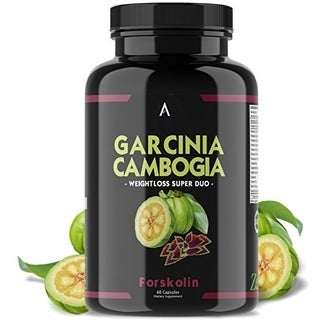 Angry Supplements Garcinia Cambogia w. Forskolin Weightloss (60 Count)