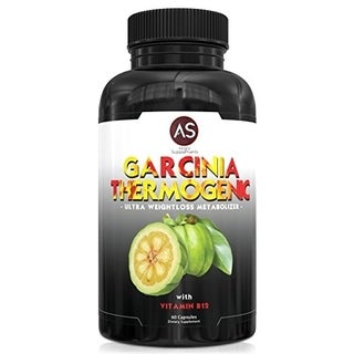 Angry Supplements Garcinia Thermogenic Ultra Weightloss Metabolizer with Vitamin B12 (60 Count)