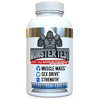 Angry Supplements Monster Test Testosterone Booster (120 Count)