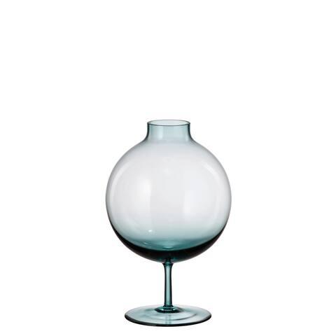 "Crystalite Bohemia Aspire Round Vase 9"""