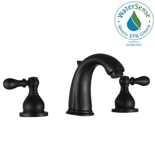 ANZZI Raider 8 in. Widespread 2-Handle Bathroom Faucet in Oil Rubbed Bronze - Silver