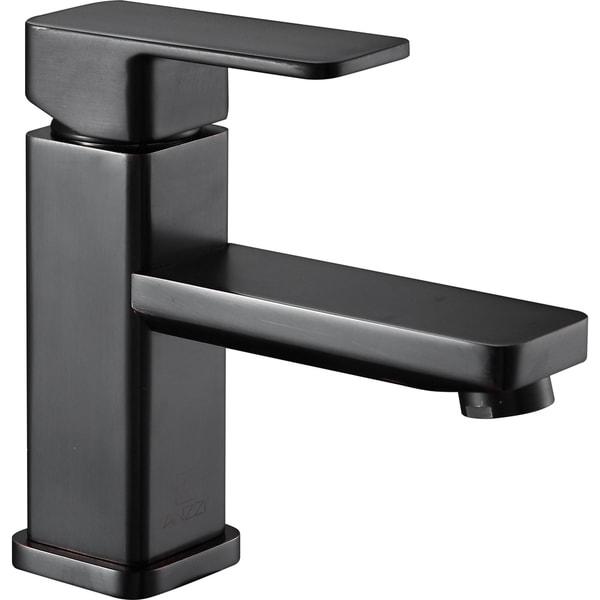 Anzzi Naiadi Single Hole Single Handle Bathroom Faucet In Oil Rubbed