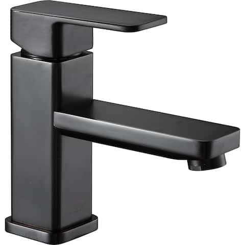 ANZZI Naiadi Single Hole Single Handle Bathroom Faucet in Oil Rubbed Bronze