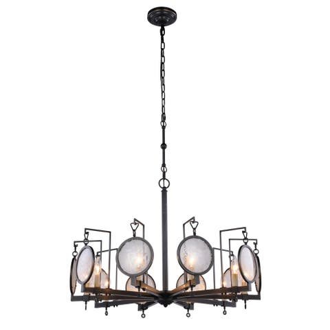 Royce Edge 10-Light Bronze Pendant