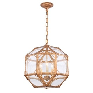 Link to Royce Edge 3-light Hanging Octagonal Pendant Similar Items in Pendant Lights
