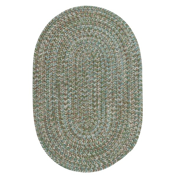 Colonial Mills Farmstand Tweed Seagrass Braided Area Rug (9' x 12')