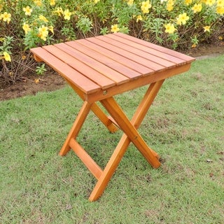 International Caravan Royal Fiji Acacia Side Table