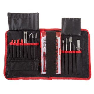 lectronic Repair Tech Tool Kit- 70 Piece Set with Precision Screwdriver, Bits, Tweezers
