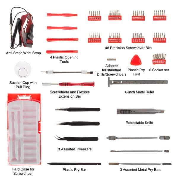 12 Piece Screwdriver Set Tool Parallel//Phillips//Pozi Multifunction Repair Kit