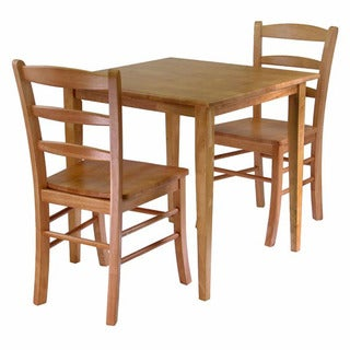 Winsome Groveland 3-piece Dining Set, Square Table With 2 Chairs