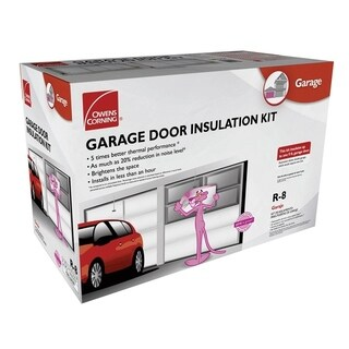 Owens Corning Garage Door Insulation Kit R-8 22 in. W Roll 65-3/4 sq. ft. Energy Star Compliant