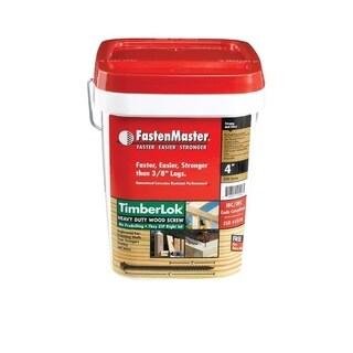 FastenMaster TimberLOK Hex Wood Screw 4 in. L Epoxy Steel 250 pk