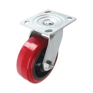 Shepherd Polyurethane 5 in. Dia. Swivel Caster Red 750 lb.