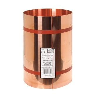 Amerimax Copper Roll Valley Flashing Copper 14 in. H x 10 ft. L x 14 in. W Roof Flashing