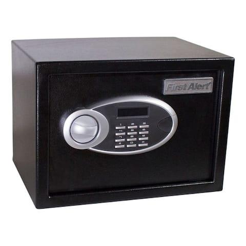 First Alert 0.57 cu. ft. Dual-Lock Black Anit-Theft Safe