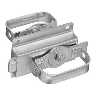 National Hardware Steel Left or Right Handed Gate Latch Silver Zinc-Plated