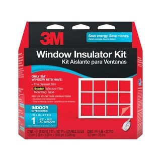 3M Clear Window Film Insulator Kit 84 in. W x 236 in. L .75 mil