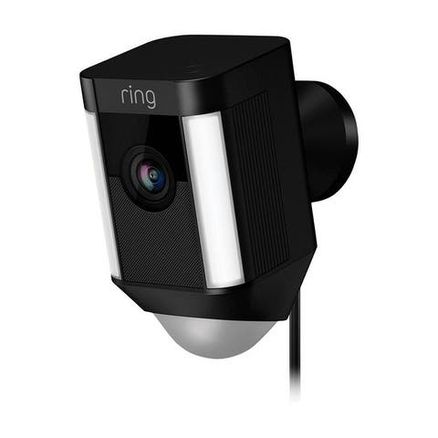 Ring Black Wi-Fi Security Camera 5 in. H x 2.75 in. W x 0 in. L x 2.7 in. L