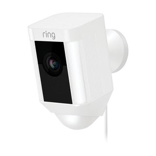 Ring White Wi-Fi Security Camera 5 in. H x 2.75 in. W x 2.7 in. L
