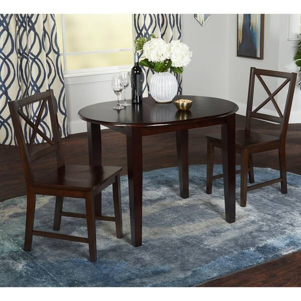 Simple Living Tapas Erfly Dining Table Espresso