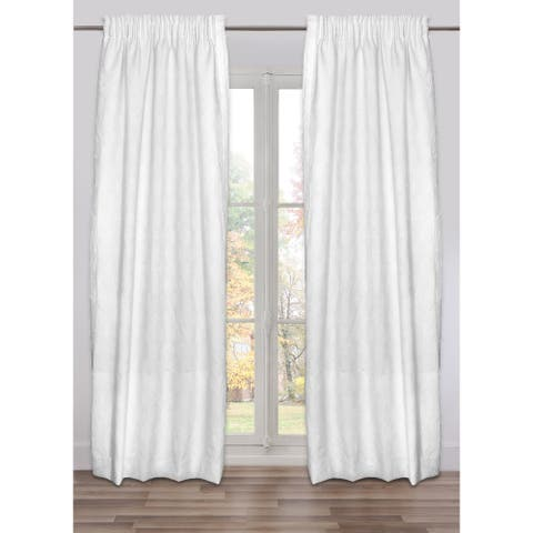Drape Westport, Fully Lined, Made in Italy, Italian Fabric (48 X 118 In)