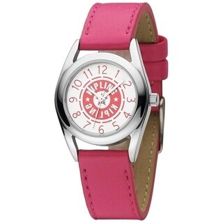 Kipling Girl's Pink leather Quartz Watch