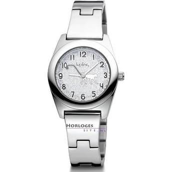 Kipling Childrens Stainless steel Monkey Watch - Silver