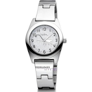 Kipling Childrens Stainless steel Monkey Watch - Silver