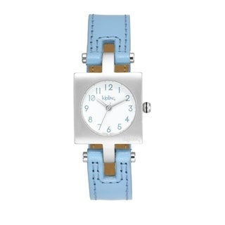 Kipling Kids Light Blue Leather Quartz Watch