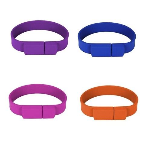 4GB Silicon Flash Drive Wristband