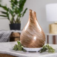 SpaRoom Bliss™ Gold Handblown Glass Ultrasonic Essential Oil Diffuser