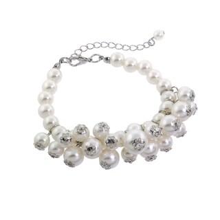 Eternally Haute Elegant Pearl Bracelet