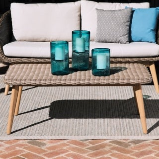 Harper Blvd Allerton Multitonal Beige Petan Outdoor Cocktail Table