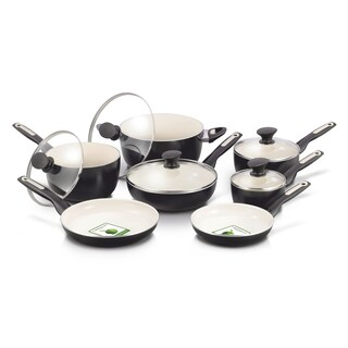 GreenPan Rio Ceramic Nonstick 12-Piece Cookware Set