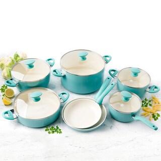 GreenPan Rio Ceramic Nonstick 12-Piece Cookware Set